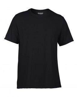 Träningströja med eget tryck - svart t-shirt