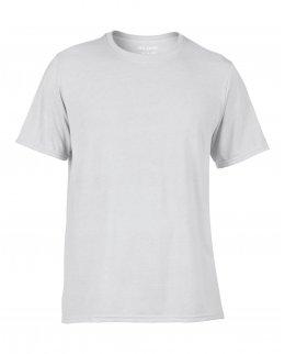 Träningströja med eget tryck - vit t-shirt