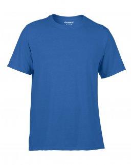 Träningströja med eget tryck - kungsblå t-shirt