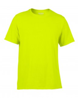 Träningströja med eget tryck - varselgrönt-shirt