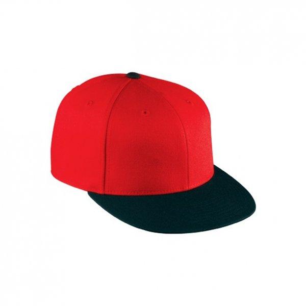 Röd / Svart Flexfit, 210 Fitted