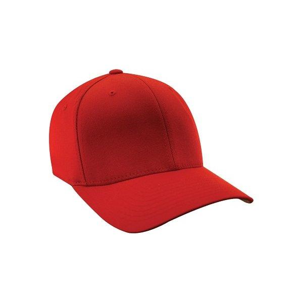 Röd barnkeps Flexfit med egen brodyr 676c422b9227f