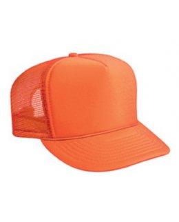 Orange barnkeps trucker