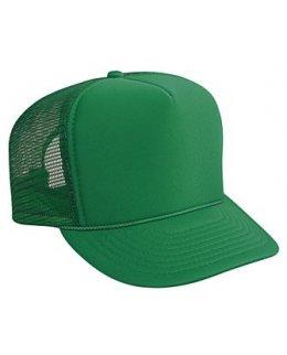 Grön truckerkeps med eget tryck eller brodyr