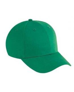 Grön keps baseball med egen brodyr