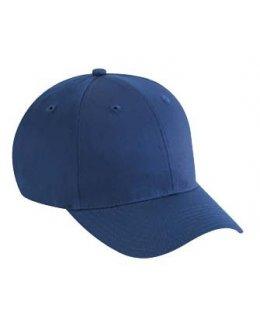 Marinblå keps baseball med egen brodyr