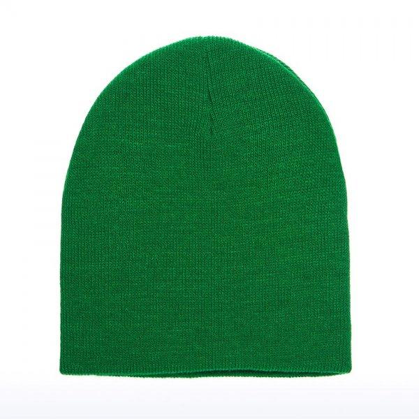 Mössa, klargrön med egen brodyr