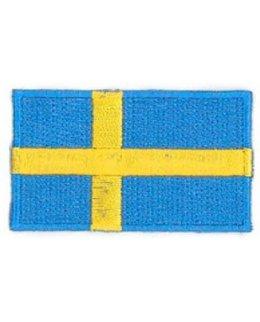 Svensk flagga tygmärke