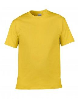 Gul herr t-shirt med eget tryck