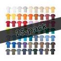 25-pack Screentryck på t-shirts