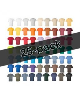 25-pack Screentryck på t-shirts