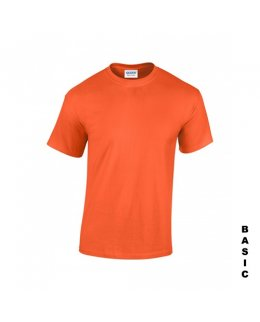 Orange t-shirt med eget tryck