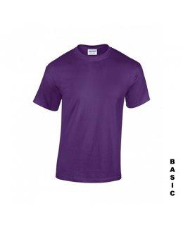 Lila t-shirt med eget tryck