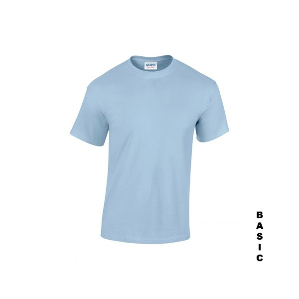 Ljusblå t-shirt med eget tryck
