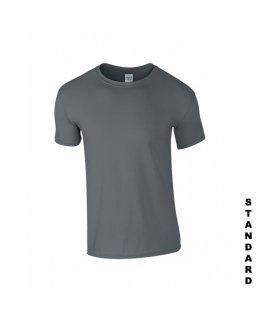 Blyertsgrå t-shirt med eget tryck
