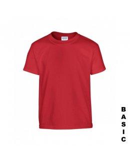 Röd t-shirt med eget tryck