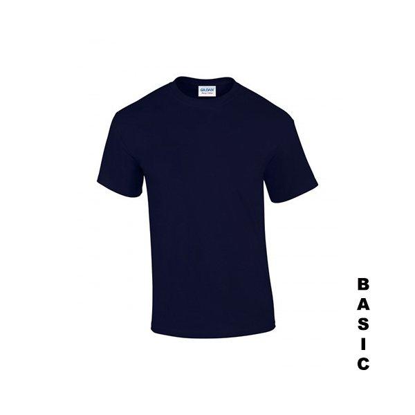 Marinblå t-shirt med eget tryck