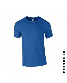 Kungsblå t-shirt med eget tryck