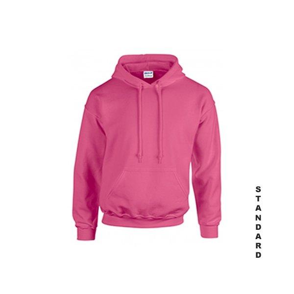 Rosa hoodie med eget tryck