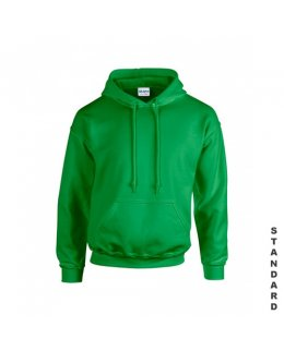 Grön hoodie med eget tryck