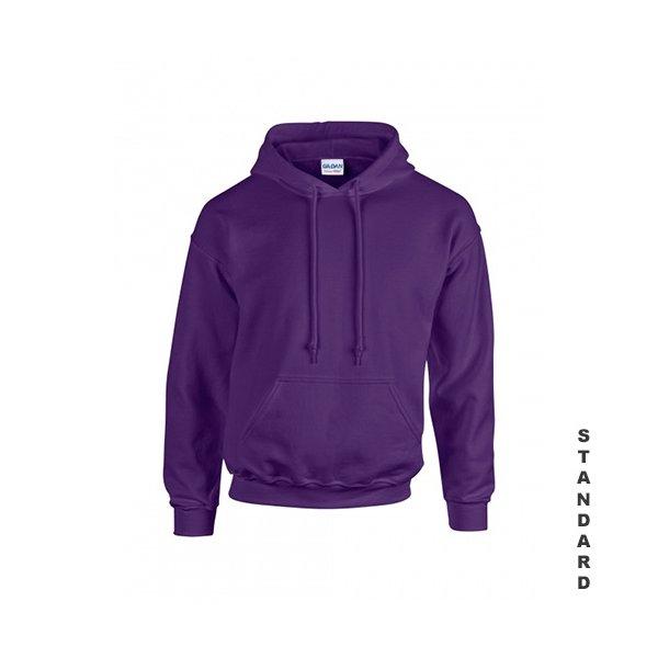 Lila hoodie med eget tryck