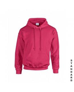 Cerise hoodie med eget tryck