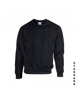Svart sweatshirt med eget tryck