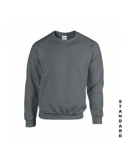 Blyertsgrå sweatshirt med eget tryck