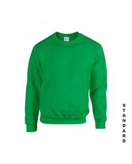 Klargrön sweatshirt med eget tryck