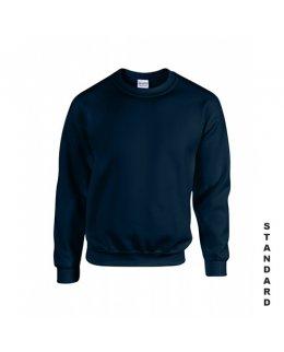 Marinblå sweatshirt med eget tryck