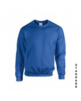 Kungsblå sweatshirt med eget tryck