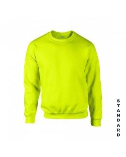 Varselgrön sweatshirt med eget tryck