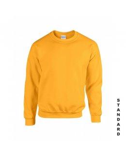 Gul sweatshirt med eget tryck