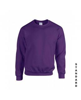 Lila sweatshirt med eget tryck