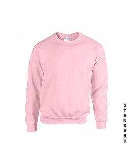Ljusrosa sweatshirt med eget tryck