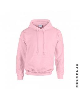 Ljusrosa hoodie med eget tryck