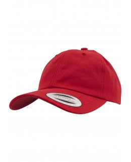 Röd Yupoong Dad Hat