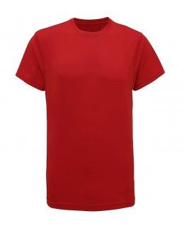 Röd TriDri träningströja med eget tryck