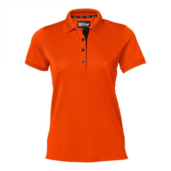 Orange Padel-piké dam med eget tryck