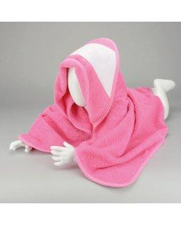Babyhandduk med huva och egen brodyr