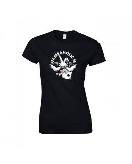 Gameaholic girlie t-shirt