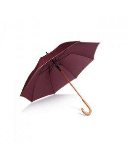Paraply i trä med eget tryck