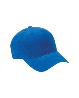 Kungsblå premiumkeps baseball med egen brodyr
