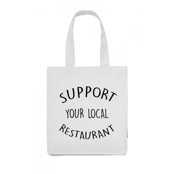 Support your local Restaurant tygkasse