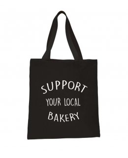 Support your local Bakery tygkasse