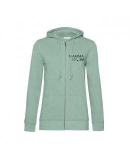 Mamma Logo zip-hoodie