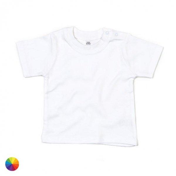 Kortärmad baby t-shirt med eget tryck