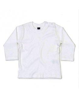 Långärmad baby t-shirt med eget tryck