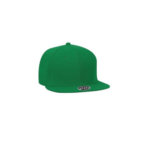 Grön snapback med egen brodyr - OTTO