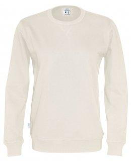 Naturvit Ekologisk och fairtrademärkt sweatshirt med eget tryck